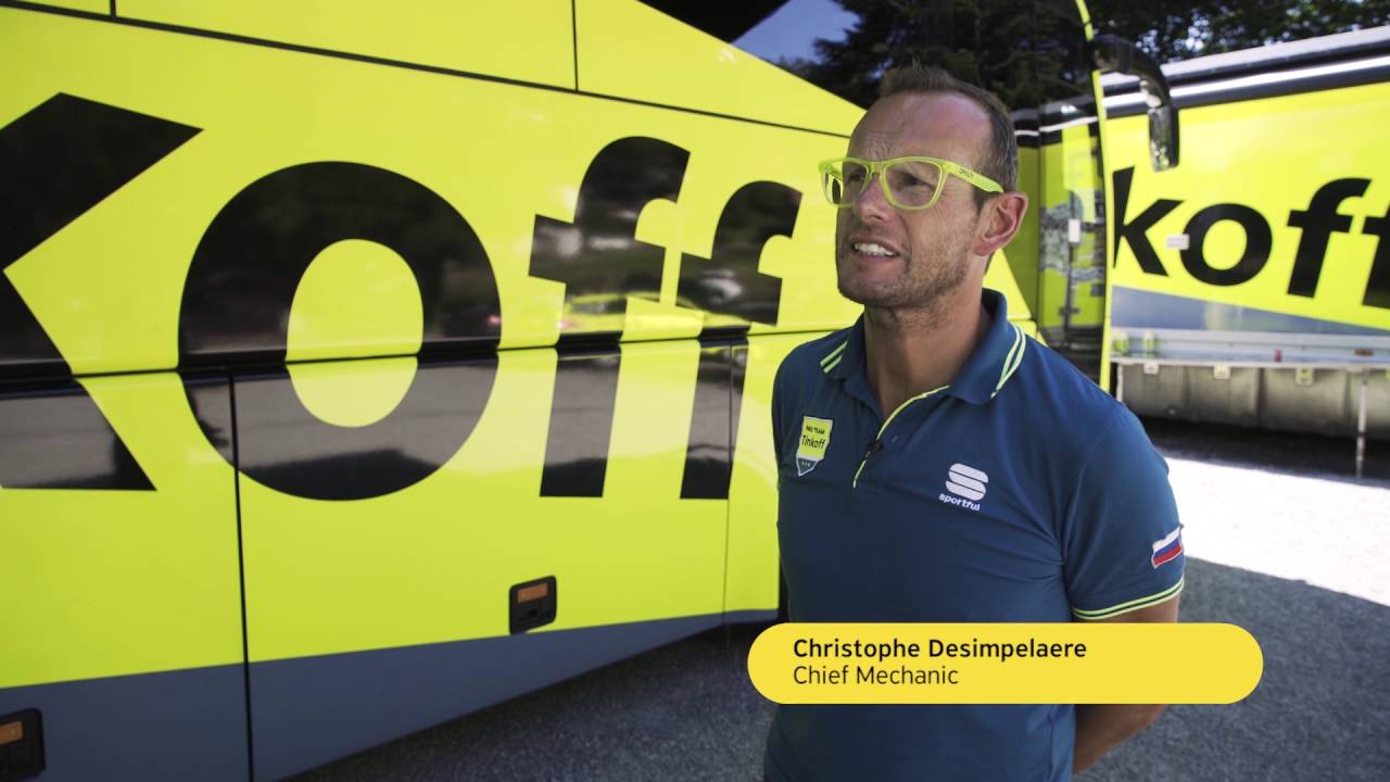 Tinkoff team at Tour de France. Behind the scenes.  - ������ - �������� �����
