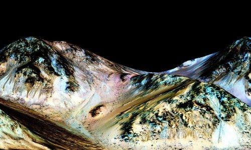 NASA обнаружила жидкую воду на Марсе - «Новости Банков»
