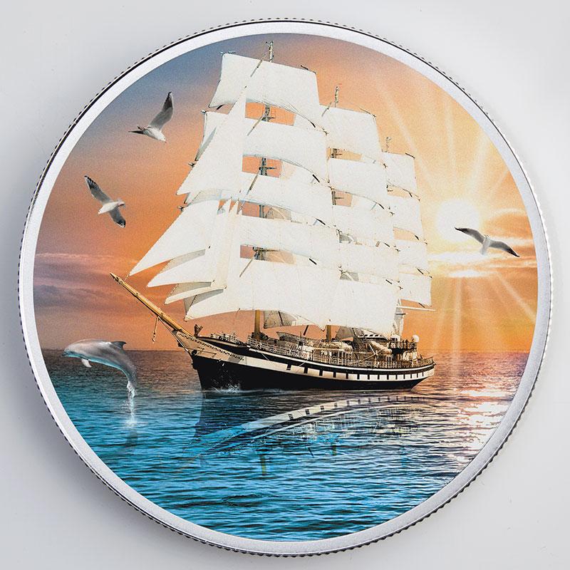 Татфондбанк запустил онлайн-бронирование монеты «Корабль удачи» - «Татфондбанк»