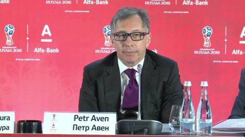 """Пресс-конференция """"Альфа-Банк - FIFA 2018""""  - «Видео -Альфа-Банк»"""