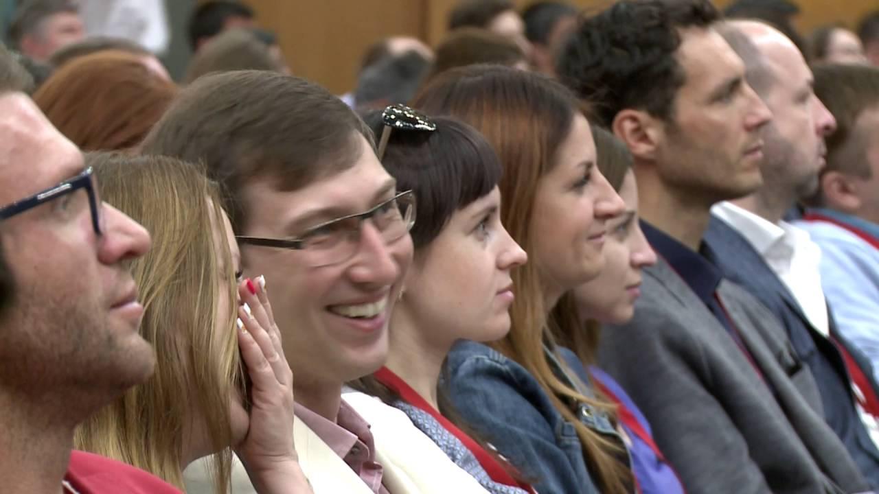 Бизнес-конференция Клуба Клиентов в Сокольниках 26 мая 2016  - «Видео -Альфа-Банк»