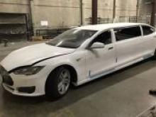 В США продают первый лимузин Tesla - «Новости Банков»