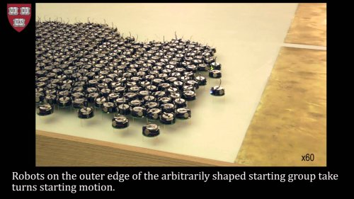 Programmable self-assembly in a thousand-robot swarm  - «Видео - РЭШ»