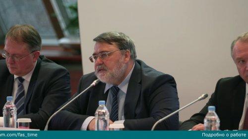 Встреча руководителей объединений предпринимателей — членов ТПП России с главой ФАС  - «Видео - ФАС России»