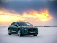 Jaguar испытал электромобиль при температуре –40°С - «Новости Банков»
