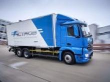 Daimler запустит производство тяжелой электрофуры eActros в 2021 году - «Новости Банков»