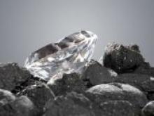 Ученые обнаружили алмаз с кристаллами внеземного льда внутри - «Новости Банков»