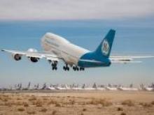 Boeing с самым большим в мире турбовентиляторным двигателем впервые поднялся в воздух - «Новости Банков»