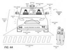 Uber запатентовал виртуального водителя для общения с пешеходами - «Новости Банков»