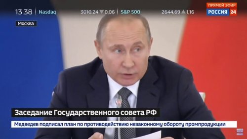 Вступительное слово Владимира Путина на заседании Госсовета 5 апреля 2018 года  - «Видео - ФАС России»