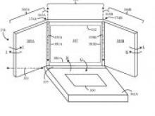 Lenovo запатентовала ноутбук с тройным складывающимся дисплеем - «Новости Банков»