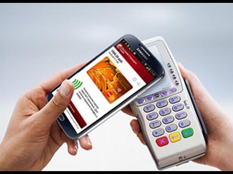 Как платить смартфоном вместо карты Samsung GALAXY S4  - «Видео - Банка Русский Стандарт»