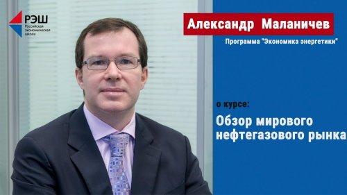 Учебный курс: «Обзор мирового нефтегазового рынка»  - «Видео - РЭШ»