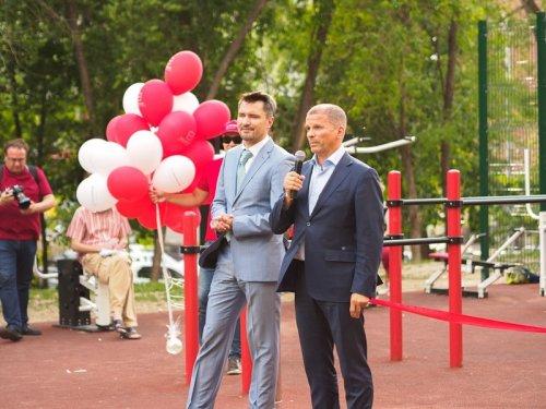 При поддержке Росбанка в центре Самары открылась новая спортивная площадка - «Пресс-релизы»