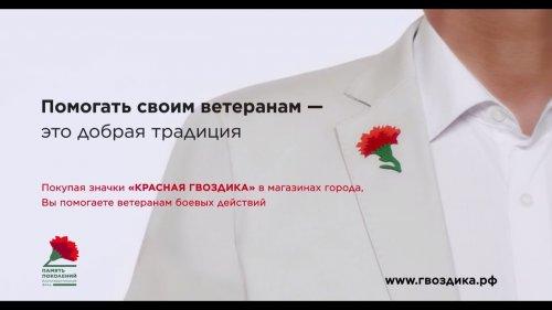 Красная гвоздика  - «Видео - Сбербанк»