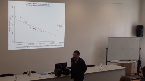 Philippe Aghion: Innovation-Led Growth Inequality, and Social Mobility  - «Видео - РЭШ»
