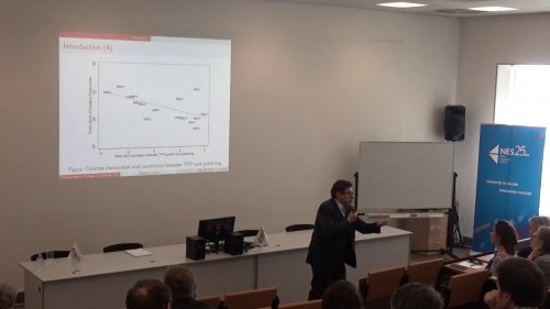 Philippe Aghion: Secular Stagnation and Growth Measurement  - «Видео - РЭШ»