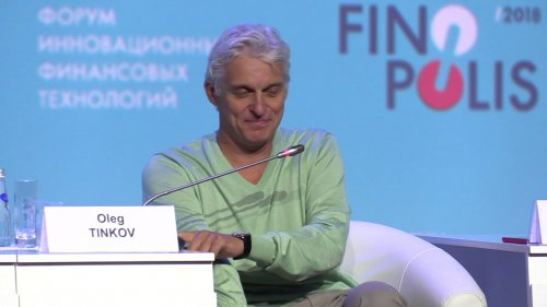 Олег Тиньков: «Финтех как платформа». Finopolis 2018  - «Видео - Тинькофф Банка»