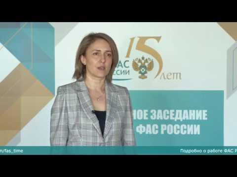 ФАС: Конкуренция должна быть во всех Нацпроектах! - «Видео - ФАС России»