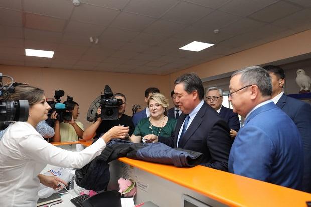 Аскар Мамин поддержал казахстанского производителя - «Экономика»