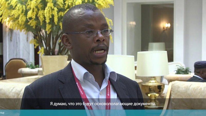 Коллеги ФАС о предстоящем БРИКС. Тембинкосе Бонакеле - «Видео - ФАС России»