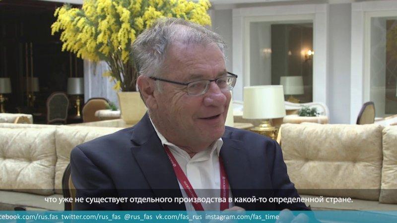Коллеги ФАС о предстоящем БРИКС. Дэннис Дэвис - «Видео - ФАС России»