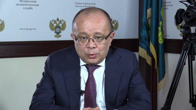 Прямая линия с ФАС. Андрей Тенишев - «Видео - ФАС России»
