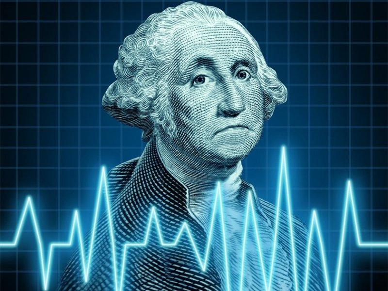 Девальвация доллара: миф или реальность - «Тема дня»