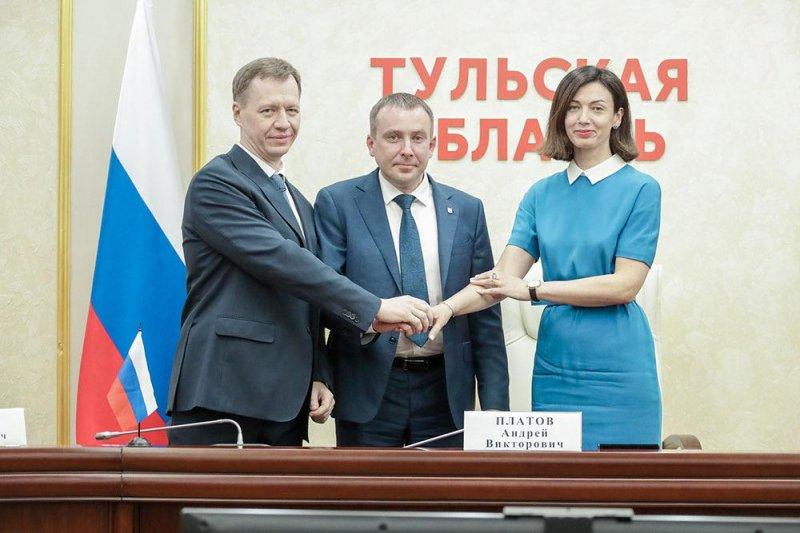 Подписано соглашение, направленное на поддержку промышленности Тульской области - «Новикомбанк»