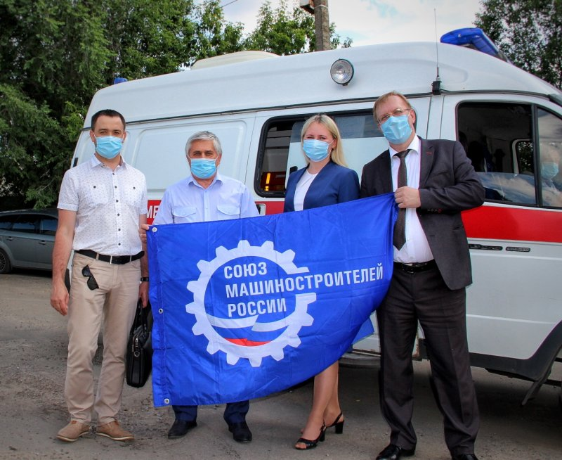Новикомбанк оказал благотворительную помощь воронежской станции скорой помощи - «Новикомбанк»