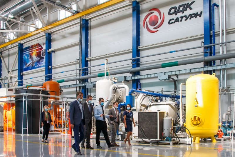 Руководство Новикомбанка посетило производственную площадку ПАО «ОДК-Сатурн» - «Новикомбанк»