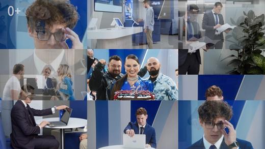 Банк ВТБ выпустил клип к тридцатилетию со дня основания - «ВТБ24»
