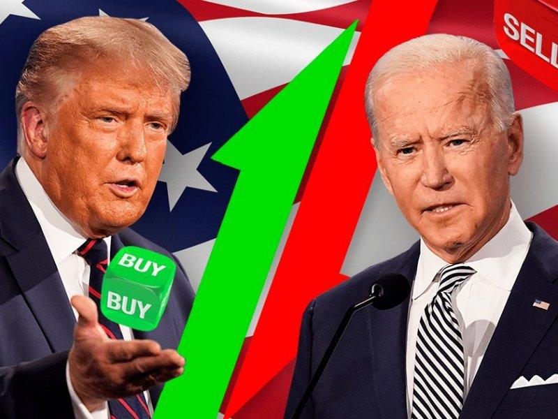 Тень выборов. Байден или Трамп? Покупать или продавать? - «Тема дня»